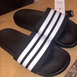 Adidas Adilette Comfort Slides. Women Size 7